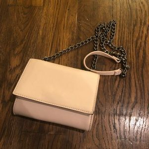 Nude Pink Chained Bag